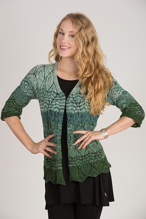 <strong>Gradient Lace Jacket</strong>
