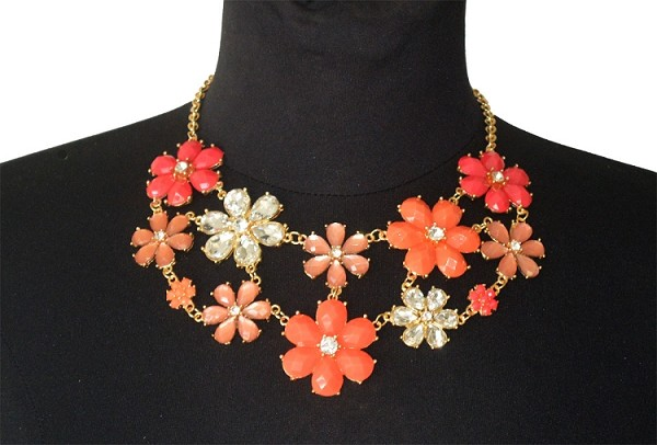 Flower Fall Necklace