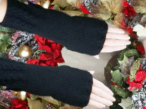Long & Luscious Fingerless Gloves